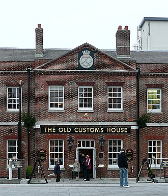 William Pilkington (architect) - The Old Customs House, Portsmouth.