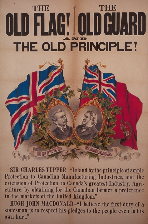 The Old Flag! The Old Guard and the Old Principle!
