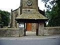 The Parish Church of Immanuel, Oswaldtwistle, Lychgate - geograph.org.uk - 559865.jpg