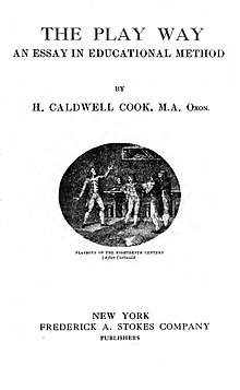 The Play Way 1919 edition title page