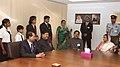 The President, Smt. Pratibha Devisingh Patil interacting with the students of Abu Dhabi Indian School, in Abu Dhabi on November 23, 2010.jpg