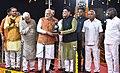 The Prime Minister, Shri Narendra Modi at an event to dedicate the Bidar - Kalaburagi New Railway Line to the Nation, at Bidar Railway Station, in Karnataka (1).jpg