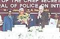 The Prime Minister Shri Atal Bihari Vajpayee and the Deputy Prime Minister Shri L.K. Advani at the Chief Secretaries and Directors General of Police Conference in New Delhi on January 17, 2004.jpg