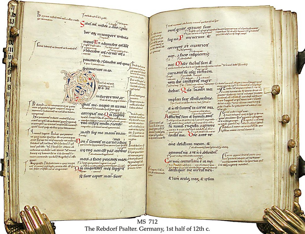 The Rebdorf Psalter Gloss by Anselm