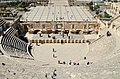 The Roman Theatre of Philadeliphia built during the reign of Antonius Pius, Amman, Jordan (38526681965).jpg