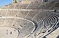 The Roman Theatre of Philadeliphia built during the reign of Antonius Pius, Amman, Jordan (39404813271).jpg
