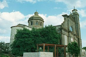The Santa Caterina church in Abbasanta..jpg