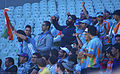 The Swami Army - Indian Cricket Fans, Melbourne Australia (20476166332).jpg