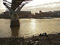 The Thames under the Millennium Bridge, London EC4 - geograph.org.uk - 1093058.jpg