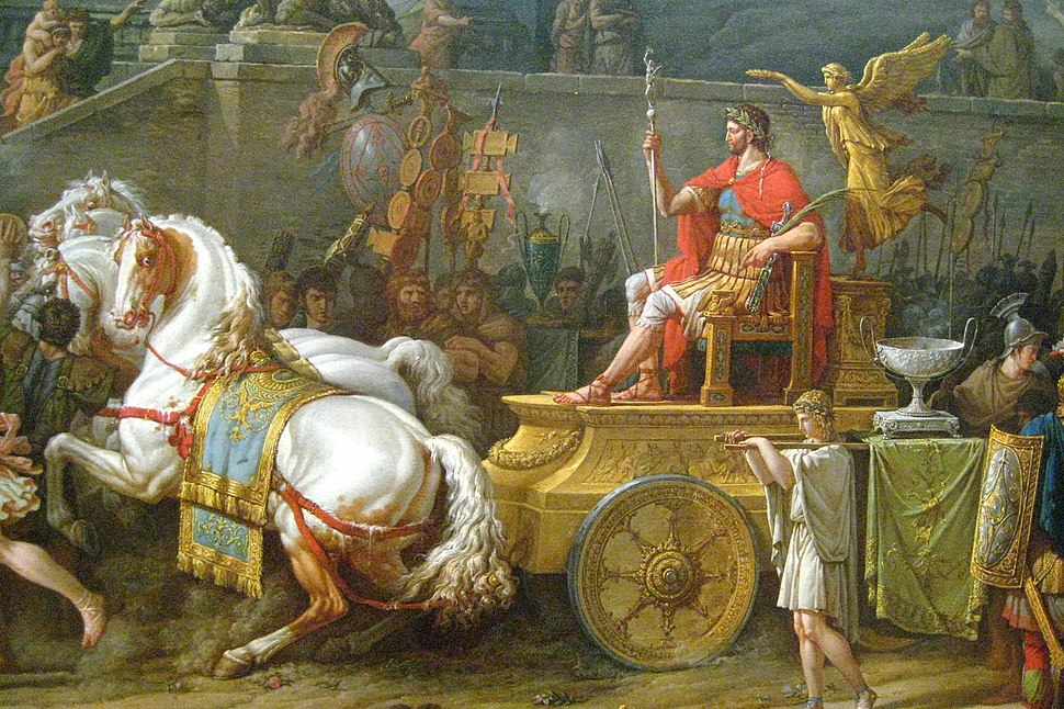 The Triumph of Aemilius Paulus (detail)