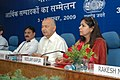 The Union Power Minister, Shri Sushilkumar Shinde addressing at the Economic Editors' Conference-2009, organised by the Press Information Bureau, in New Delhi on November 04, 2009.jpg