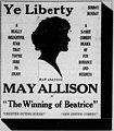 The Winning of Beatrice 1919 newspaper.jpg