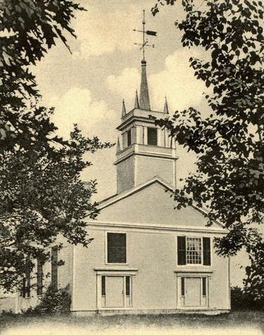 The Worsted Church, Canterbury, NH