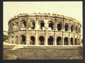 The arena, exterior, Nîmes, France-LCCN2001698489.tif