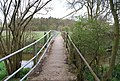The footbridge across the River Eden north of Chiddingstone - geograph.org.uk - 1262579.jpg