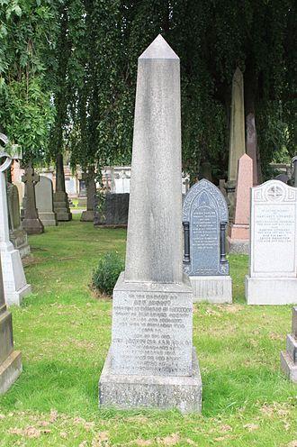 Neil Arnott - The grave of Neil Arnott FRS, Dean Cemetery, Edinburgh