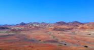 The mountains near Dasbiyo