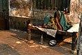 The old woman spending her life in footpath near Balananda Brahmachari Sebayatan-Kolkata-P1080613.jpg