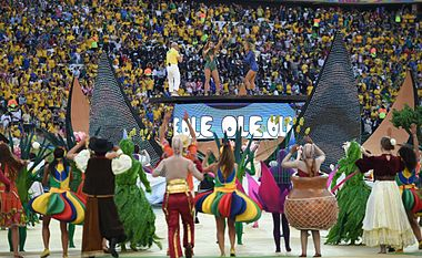The opening ceremony of the FIFA World Cup 2014 06.jpg