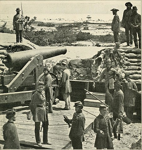 Confederates at one of the captured Pensacola forts.
