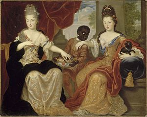Prince du sang - The sisters ''Mademoiselle de Blois'' and ''Mademoiselle de Nantes'', two legitimised daughters of Louis XIV and Mme de Montespan.