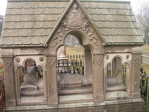 East Hampton (town), New York - Lion Gardiner tomb at the South End Cemetery