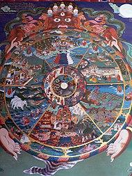 skyddsande för buddist