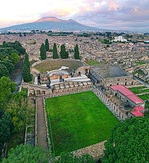 Pompeii Ancient Roman city near modern Naples, Italy
