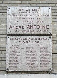 Théâtre Libre theater