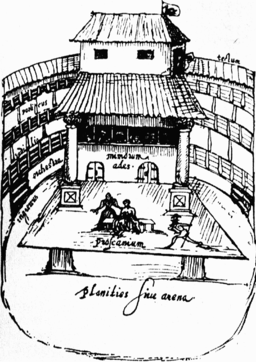 Theatre in shakespeares time interior view