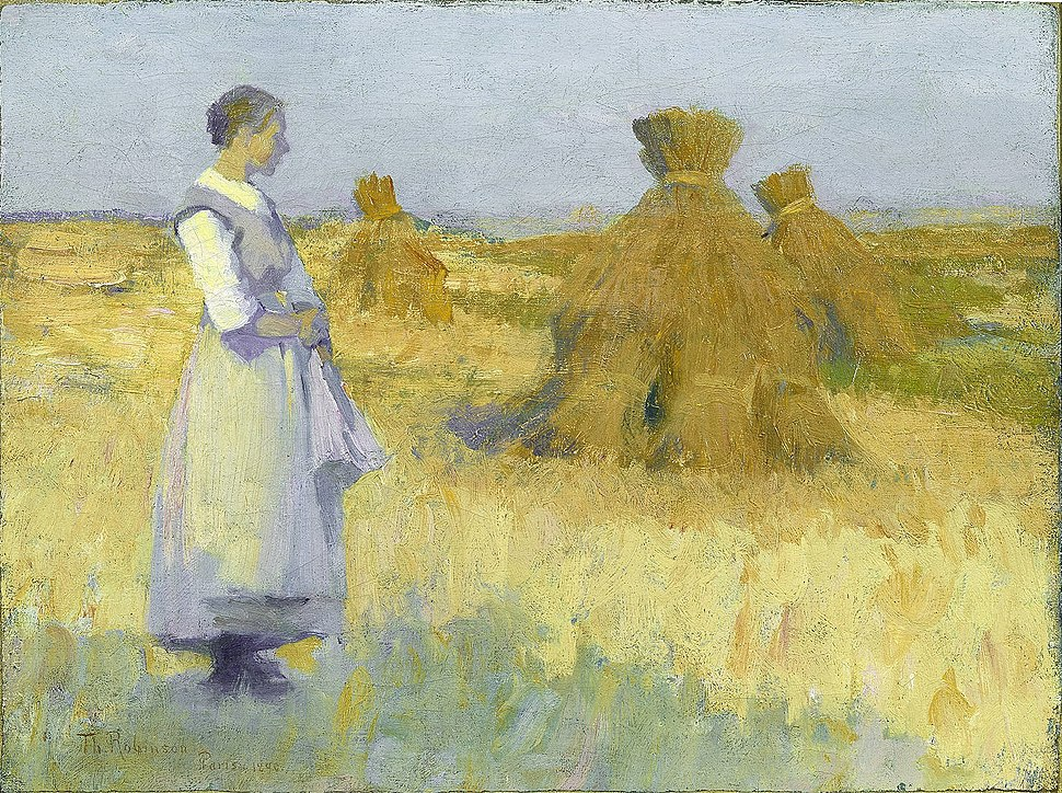 Theodore Robinson - Etude (1890)