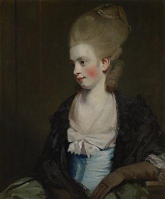 Robert Lovell Gwatkin - Theophila Palmer c. 1777, studio of Joshua Reynolds