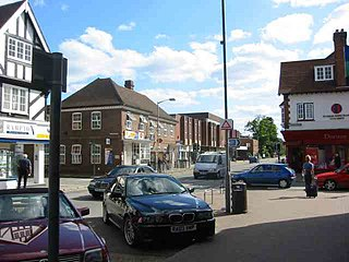 Gerrards Cross town and civil parish in the South Bucks district of Buckinghamshire, England