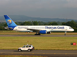 Boeing 757 van Thomas Cook Airlines