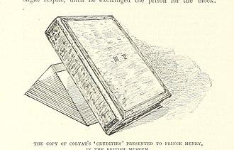 Thomas Coryat - Image: Thomas Coryat's Crudite at British Museum 1893