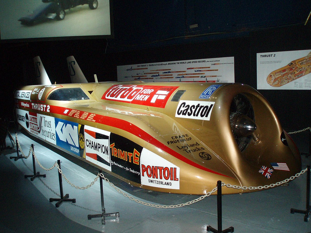 Fastest Jet In The World >> Thrust2 - Wikipedia