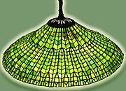 Tiffany lotus-leaf hg