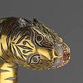 Tiger's head at the pommel of Ghazi-ud-Din Haidar Shah's sword.jpg