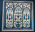 Tile panel from Damascus, c. 1600, Boston Museum of Fine Arts.jpg