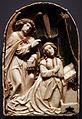 Tilman riemenschneider e bottega, annunciazione, alabastro già policromato, 1520-25 ca.jpg