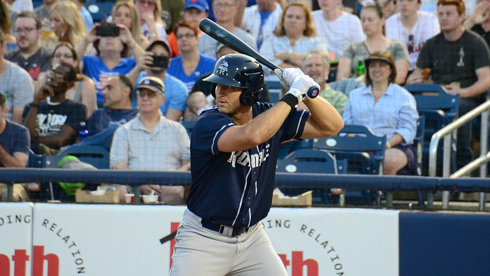 Tim Tebow - Binghamton Rumble Ponies - 09Jun18