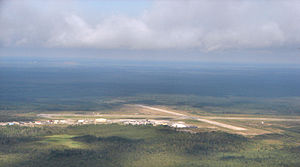 Timmins/Victor M. Power Airport - Image: Timmins Airport aerial