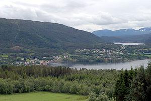 Tingvoll - View of Tingvollvågen