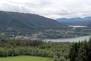 Tingvollvågen Village in Western Norway, Norway