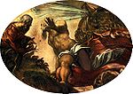 Tintoretto, Jacopo - Jonah Leaves the Whale's Belly - 1577-78.jpg