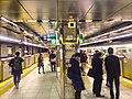 Tochomae station platforms - HDR - Jan 14 2017.jpg