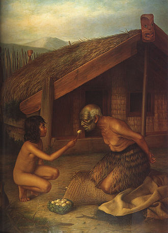 Tohunga - Tohunga handling the dead would be fed by another, as they would become tapu and so could not handle food.