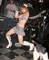 Tokyo Cramps' dancer @ Halloween Ball 2007 in SHELTER.jpg