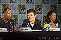 Tom Cavanagh, Grant Gustin & Candice Patton (35762180673).jpg