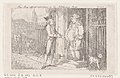 "Tom Jones Refused Admittance by the Nobleman's Porter, from ""The History of Tom Jones, a Foundling"" by Henry Fielding MET DP872045.jpg"